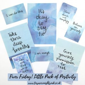 Fiver Friday Little Pack of Positivity