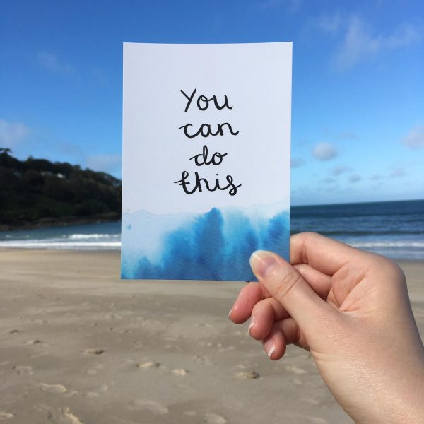 'You can do this' Individual Postcard