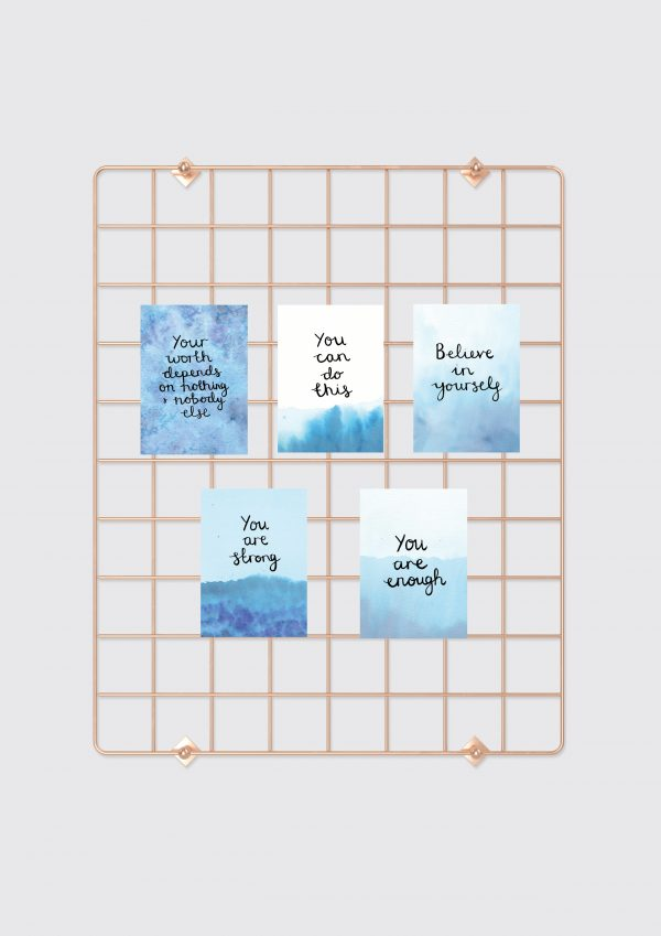 Believe in yourself mini affirmation card set