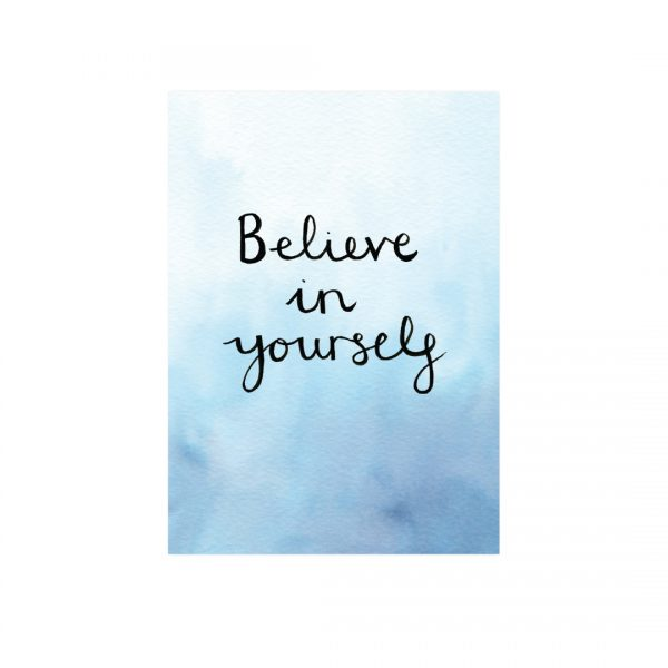 Believe in yourself motivational inspirational positive affirmation