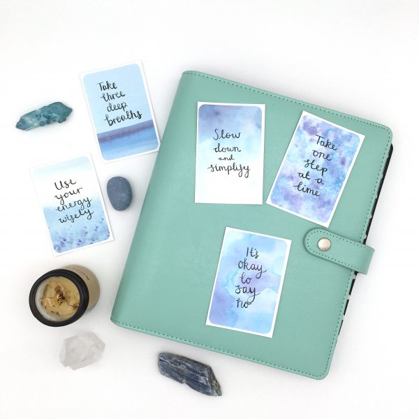 'Overwhelm to Calm' Stickers - Set of 5