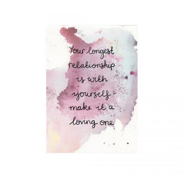 Self-love inspirational motivational