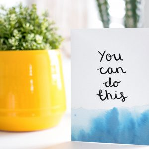 Positive Affirmation Greeting Cards