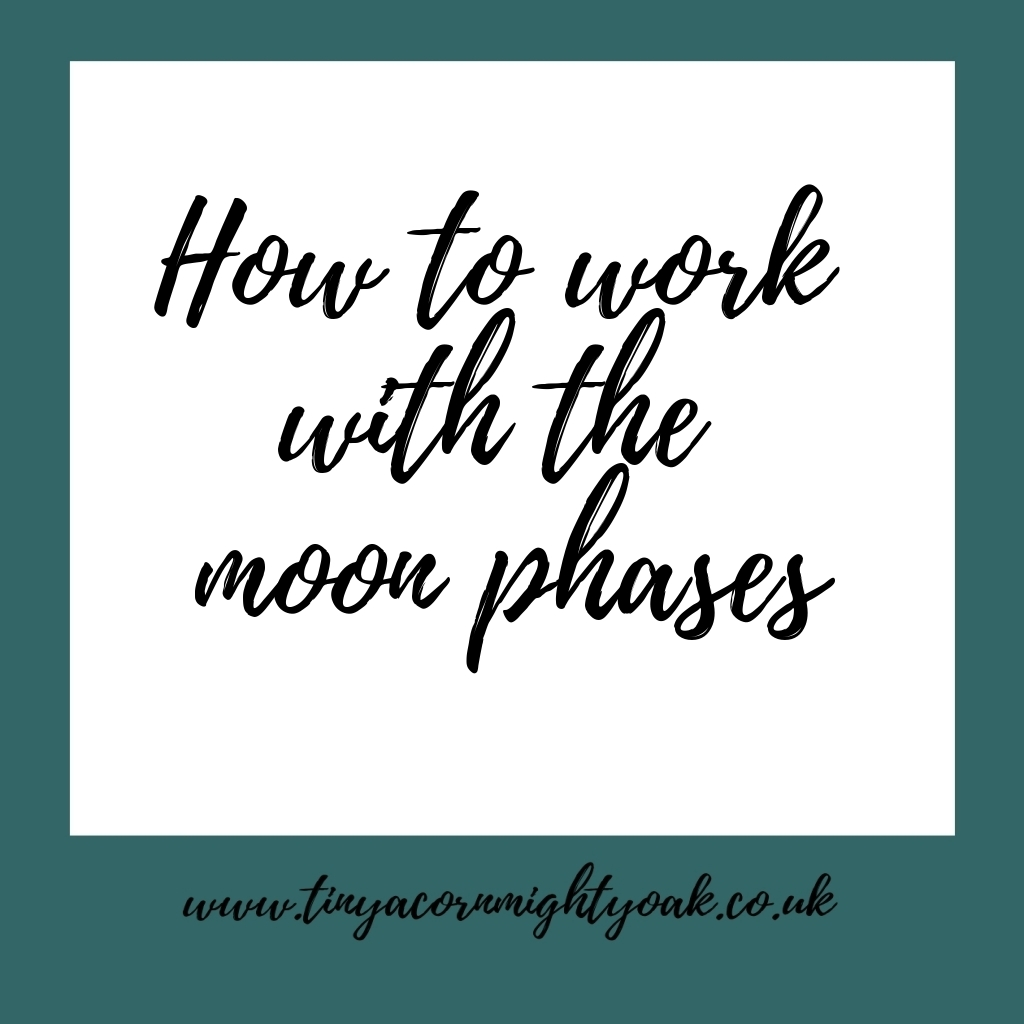 How to work with the moon phases