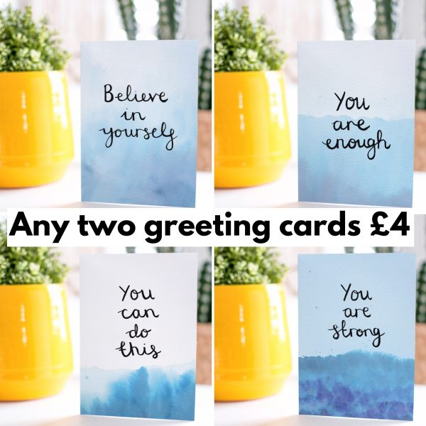 Greeting card offer